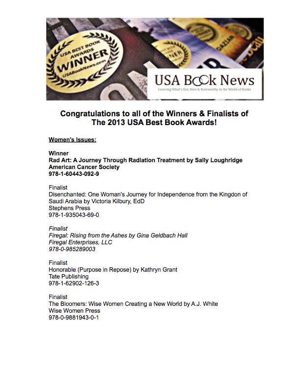 USA Book News Award